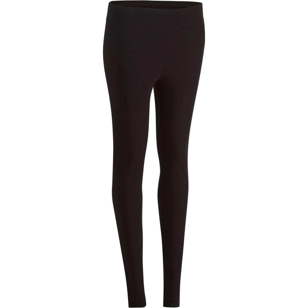 Bild 1 von Leggings Fit+500 Slim Gym & Pilates Damen schwarz