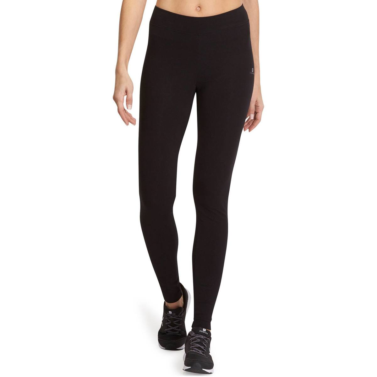 Bild 2 von Leggings Fit+500 Slim Gym & Pilates Damen schwarz