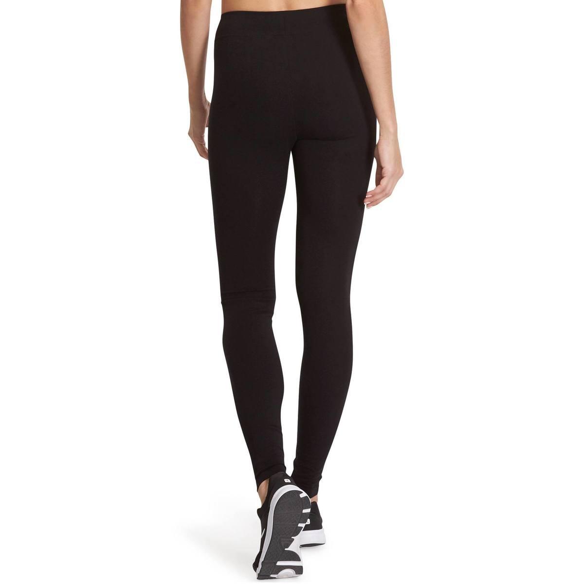 Bild 4 von Leggings Fit+500 Slim Gym & Pilates Damen schwarz