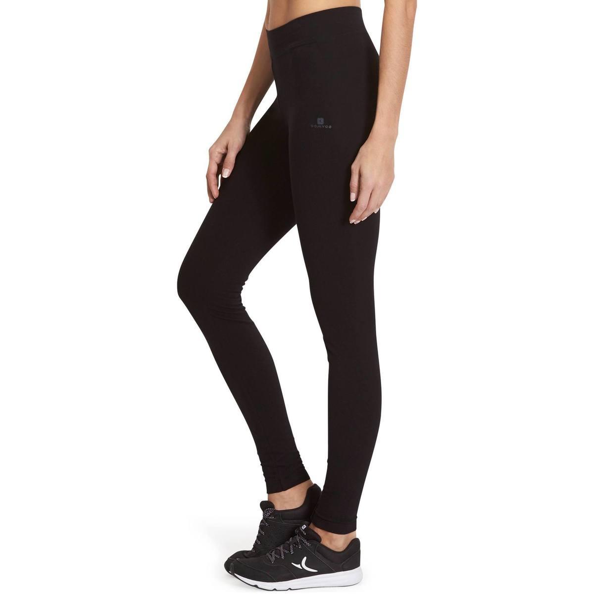Bild 5 von Leggings Fit+500 Slim Gym & Pilates Damen schwarz