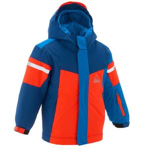 Skijacke Kid 300 Kinder neonorange
