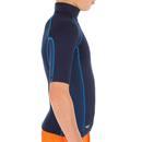 Bild 3 von Thermo-Shirt kurzarm UV-Schutz Fleece Kinder blau