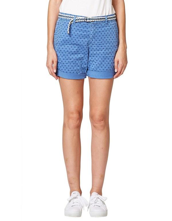 Esprit - Shorts mit Minimal-Print