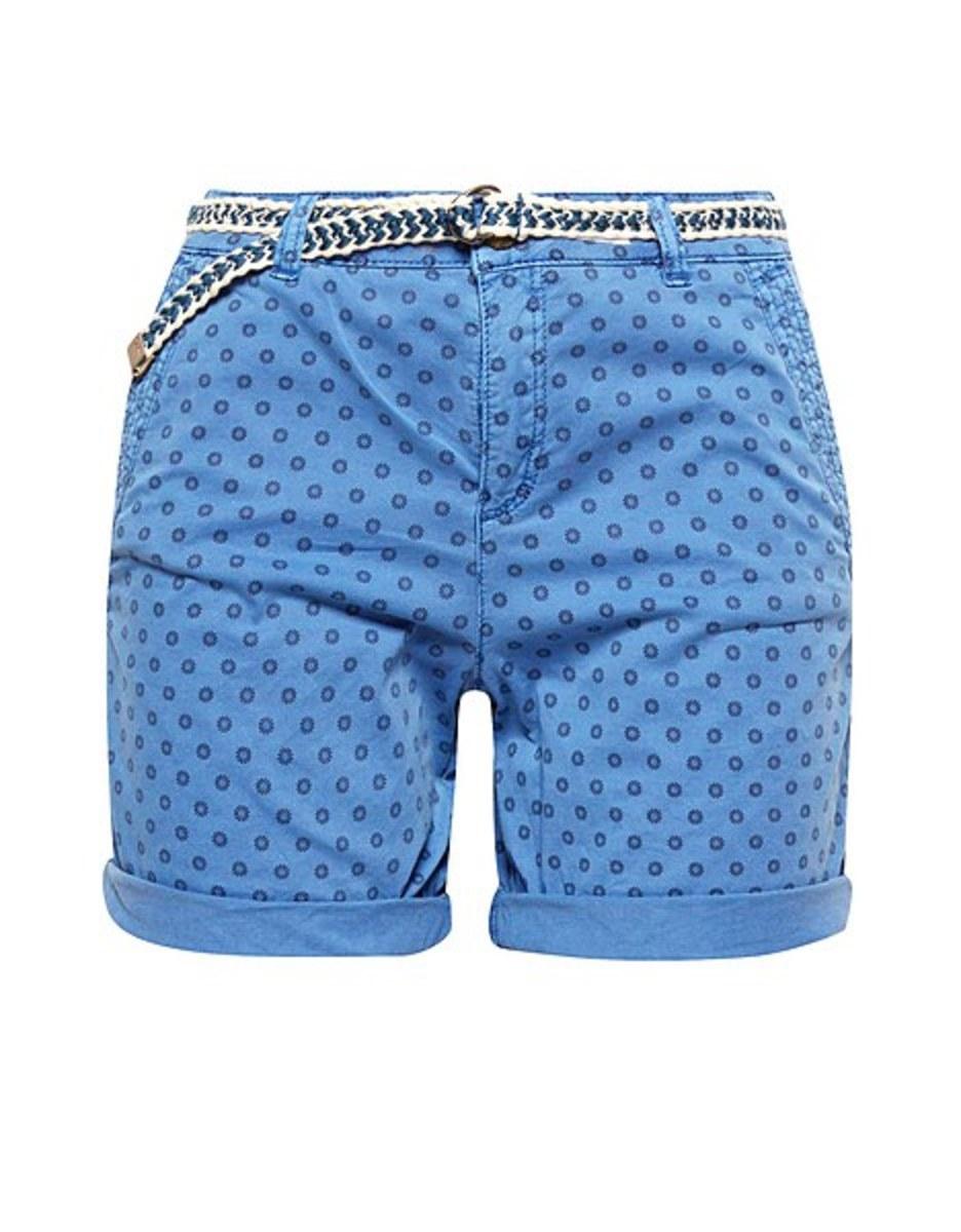 Bild 4 von Esprit - Shorts mit Minimal-Print