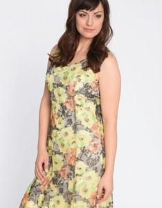 Steilmann - Kleid aus floral bedruckter Mesh-Spitze