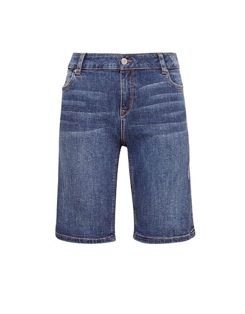Bild 4 von Esprit - Jeans-Shorts mit Destroyed-Effekten