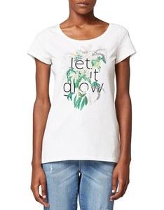 Esprit - Baumwoll-Shirt mit Frontdruck