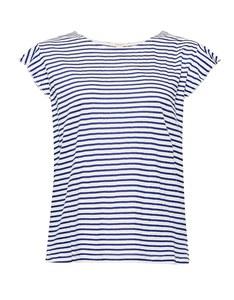 Esprit - verspieltes Shirt mit Leinen