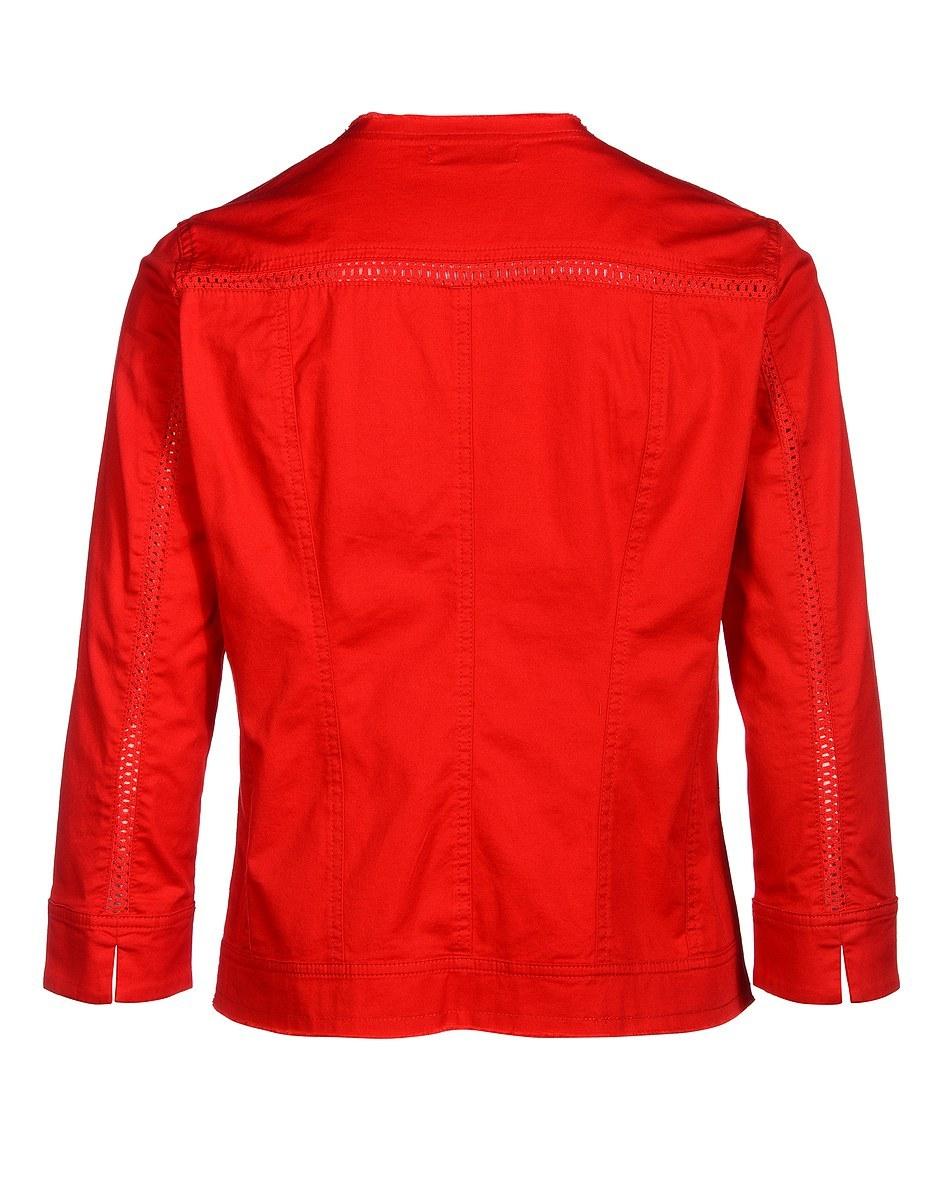 Bild 2 von PUNT ROMA - Jacke mit Häkelspitze und goldfarbenen Accessoires