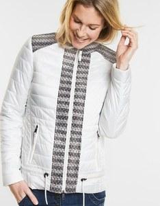 CECIL - wetterfeste Jacke im Materialmix