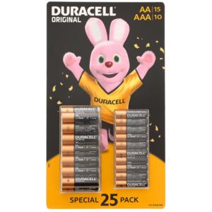 Duracell Batterie AA/AAA