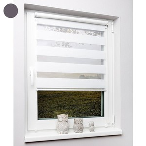 Metablo Doppelrollo, ohne Bohren, 70 x 150 cm, weiß
