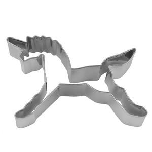 Keksausstecher, Einhorn, Metall, 10 x 2,5 x 10 cm