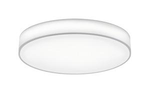 Trio Leuchten - LED Stoff-Deckenleuchte Lugano in weiß