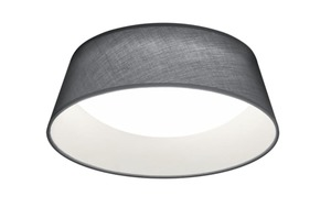 Reality Leuchten - LED-Deckenleuchte Ponts in grau