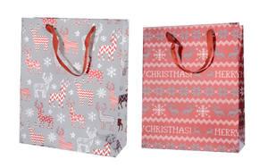 Geschenktasche aus Papier in bunt