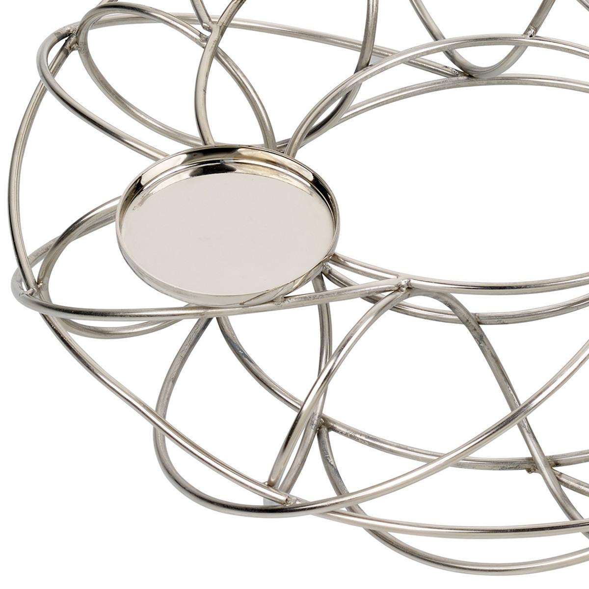 adventskranz aus metall von ernstings family ansehen. Black Bedroom Furniture Sets. Home Design Ideas