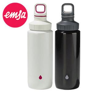 """Trinkflasche """"LIGHTSTEEL"""" - spülmaschinengeeigneter Edelstahl - kompakt und superleicht - ca. 0,6 Liter Inhalt"""