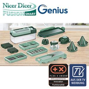 """Allesschneider """"Nicer Dicer Fusion Smart"""" - 16-teilig - inkl. Spiralschneider """"Julietti"""""""