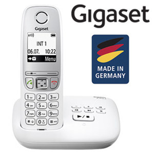 Schnurlos-DECT-Telefon A415A · Telefonbuch für bis zu 100 Einträgen · digitaler Anrufbeantworter · Freisprech- und CLIP-Funktion · ECO-Modus