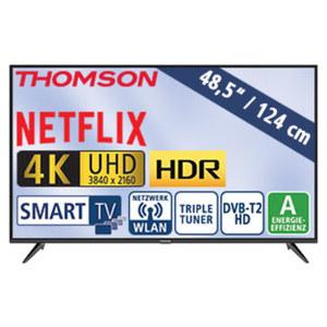 "48,5""-Ultra-HD-LED-TV 49UD6306 HbbTV, H.265, HDR, Dual-Core, 3 HDMI-Anschlüsse, 2 USB-Anschlüsse, CI+,  Stand-by: 0,26 Watt, Betrieb: 68 Watt, Maße: H 65,0 x B 110,5 x T 7,8 cm, Energie-Effizienz"
