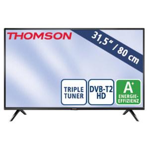 """31,5""""-LED-HD-TV 32HD3306 Auflösung 1366 x 768 Pixel, H.265, 2 HDMI-/USB-Anschlüsse, CI+, Stand-by: 0,25 Watt, Betrieb: 31 Watt, Maße: H 43,5 x B 73,2 x T 8,0 cm, Energie-Effizienz A+ (Spektrum A++"""