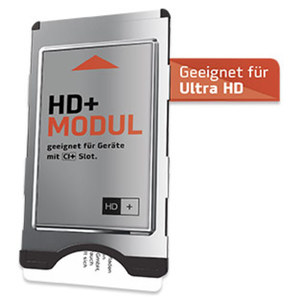 HD+-Modul inkl. HD+-Sender-Paket für 6 Monate gratis geeignet für UltraHD