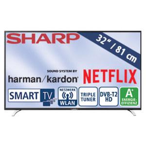 sharp 4k uhd smart tv lc 55cug8062e von kaufland ansehen. Black Bedroom Furniture Sets. Home Design Ideas