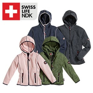 Kinder-Fleece-Jacke Größe: 98 - 164