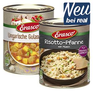 Erasco neue Welten Eintöpfe, Fleisch oder Pfannengerichte versch. Sorten, jede 770-ml/800-g-Dose