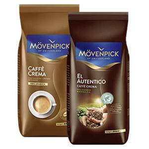 Mövenpick Caffé Crema versch. Sorten oder Espresso jede 1000-g-Packung