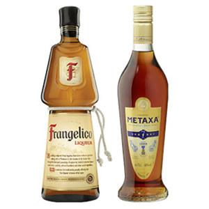 Metaxa 7 Stern oder Frangelico 40/20 % Vol., jede 0,7-l-Flasche