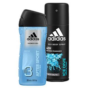 Adidas Deo Spray/Duschgel oder Playboy Duschgel versch. Sorten, jede 250/150-ml-Flasche/Dose