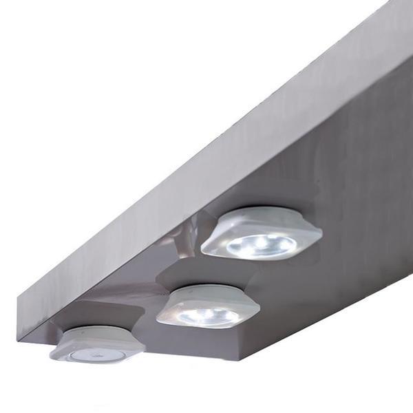 IDEENWELT 3er Set LED-Unterbauleuchten