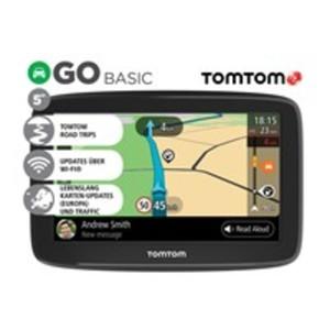 """TomTom Go Basic EU Navigationsgerät mit 13 cm (5"""") Diagonale, Wi-Fi® Update-Funktion, lebenslang Karten-Updates, TomTom Road Trips und MyDrive"""