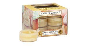 YANKEE CANDLE Duftteelichte 12er-Pack – Vanilla Cupcake