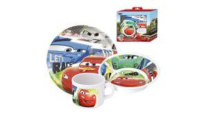 Disney Cars Frühstücksset im Geschenkkarton 3-teilig