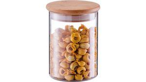 zeller Vorratsglas mit Bambusdeckel ca. 750 ml