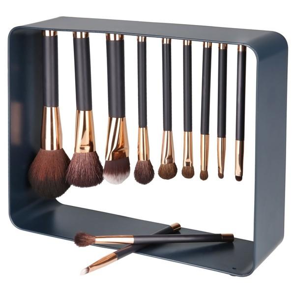 Kosmetikpinsel-Set mit Magnet, 12-teilig