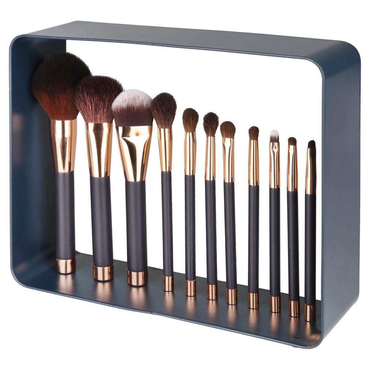 Bild 3 von Kosmetikpinsel-Set mit Magnet, 12-teilig