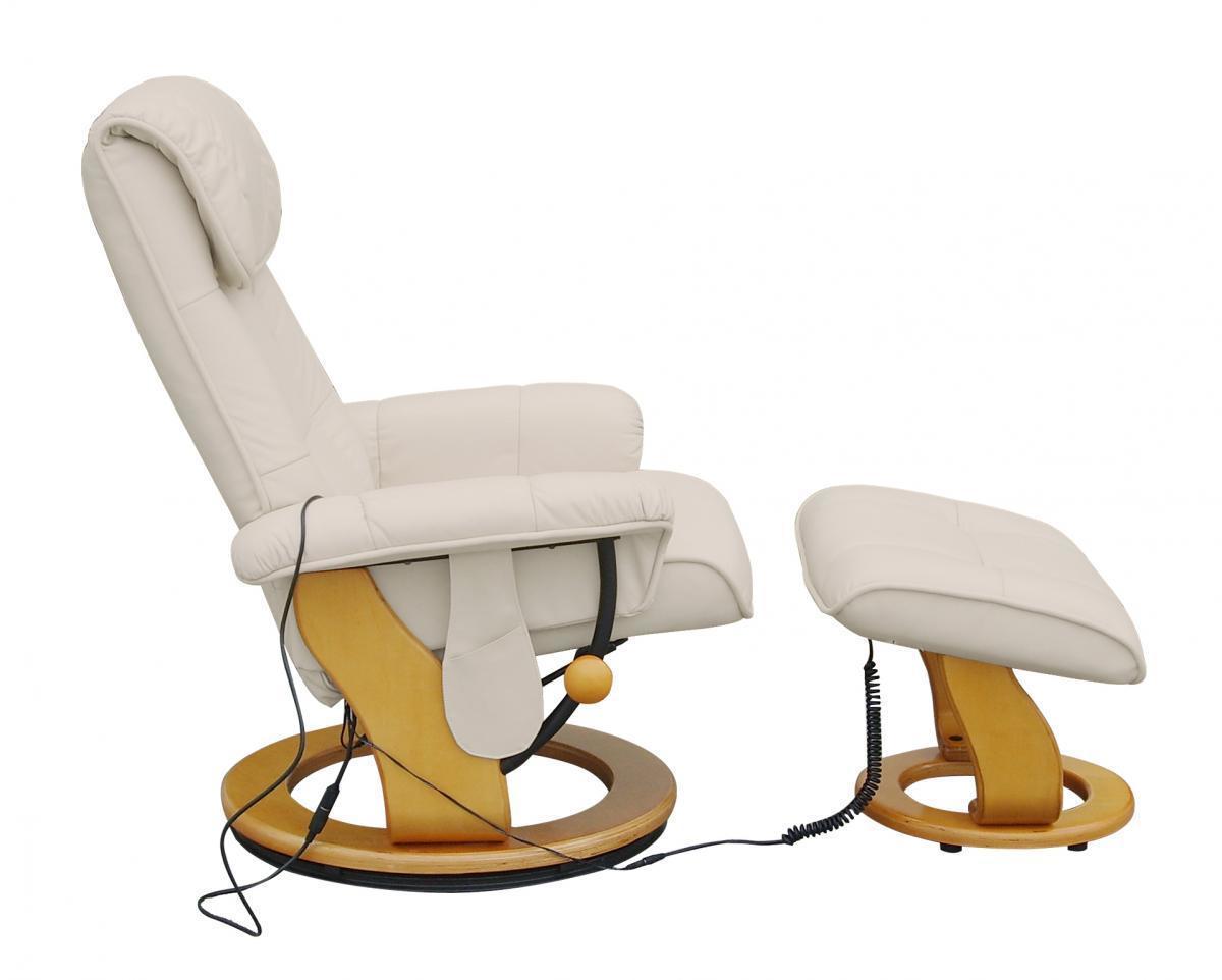 Bild 2 von Alpha Techno Massagesessel 7036 beige