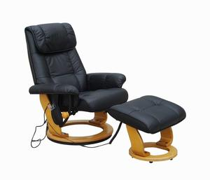 Alpha Techno Massagesessel 7036 schwarz