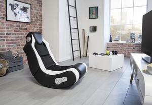 Wohnling Soundchair Booster schwarz/ weiß