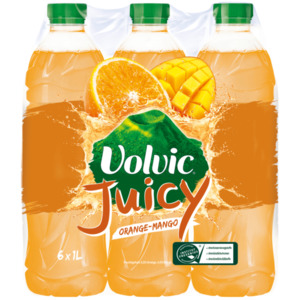 Volvic Juicy Orange-Mango 6x1l
