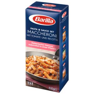Barilla Pasta & Sauce Set Maccheroni Tomate-Ricotta 510g