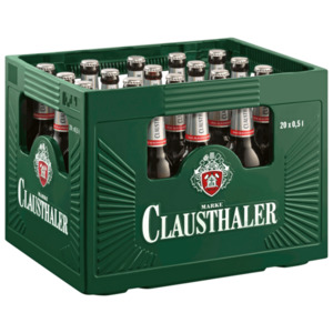 Clausthaler Classic Premium Alkoholfrei 20x0,5l