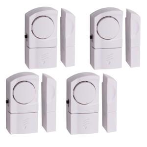 Tür- und Fensteralarm 4 teilig mit 90 dB und Magnetsensor