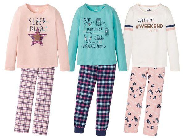 PEPPERTS® Mädchen Pyjama