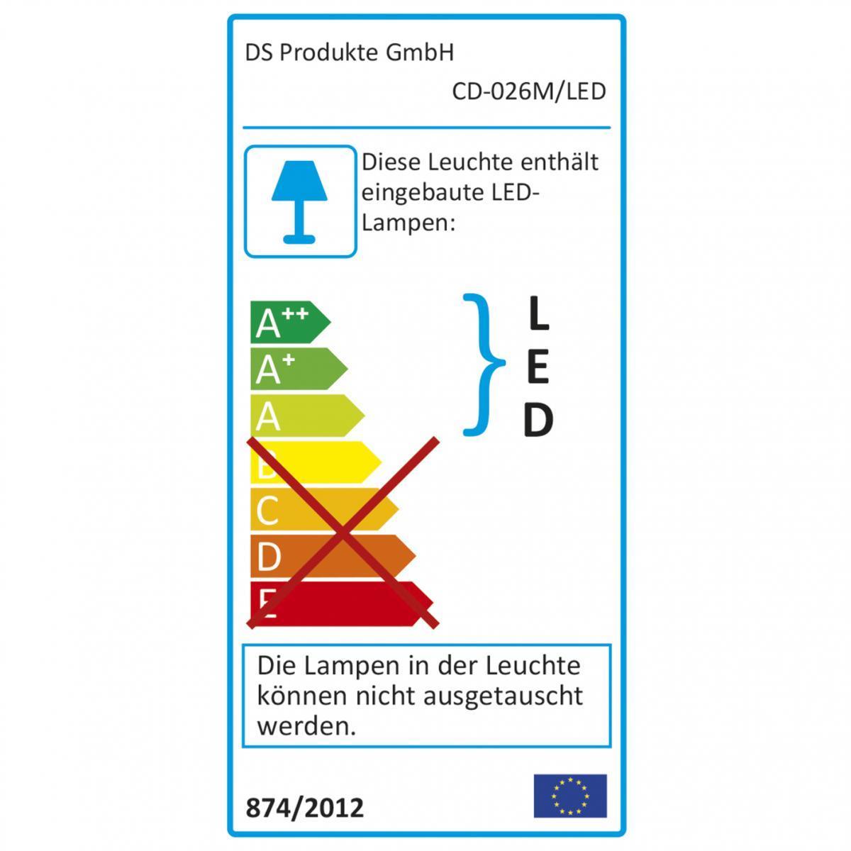 Bild 3 von EASYmaxx LED-Tageslicht-Tischleuchte Daylight, 12W, Edelstahl