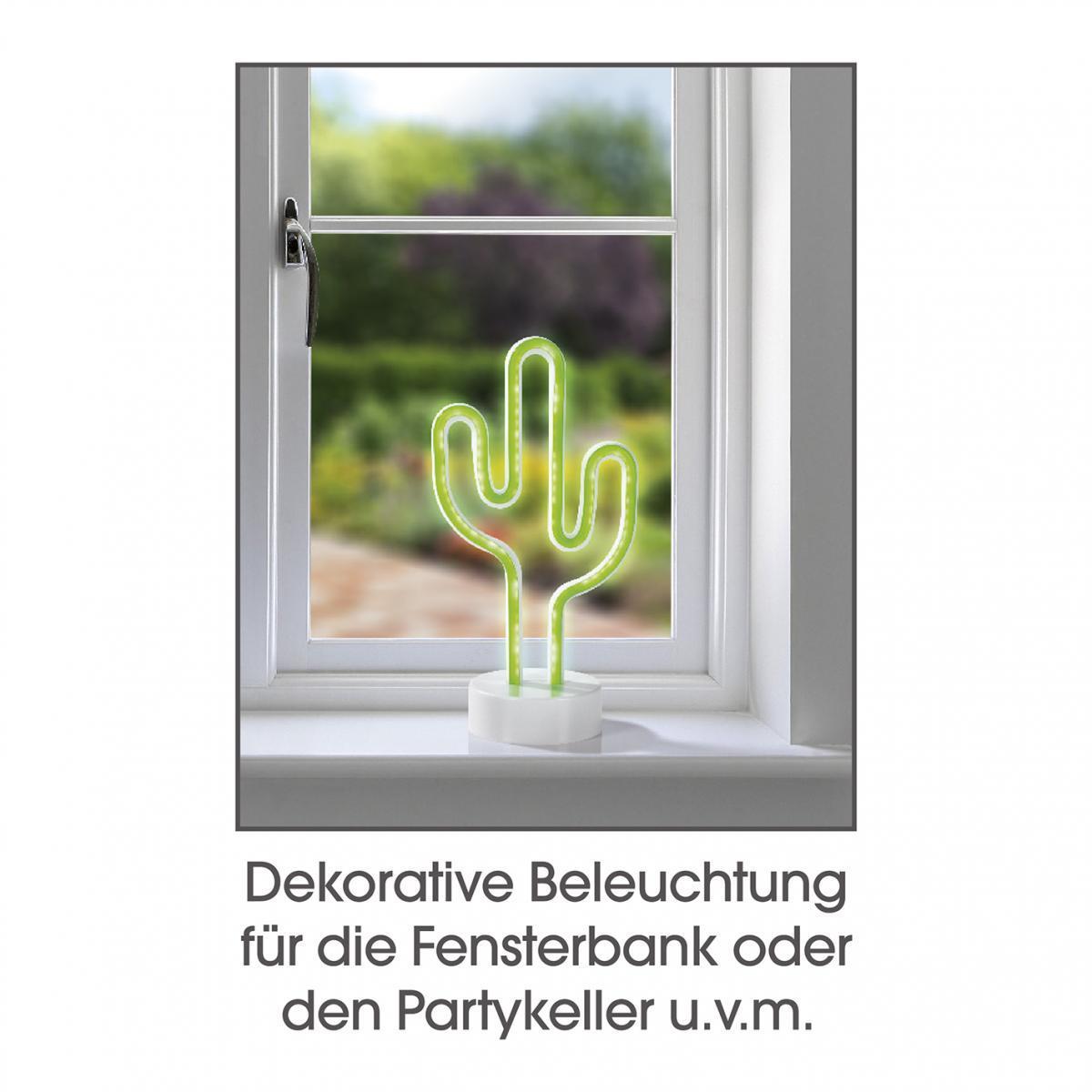 Bild 5 von EASYmaxx Dekoleuchte Kaktus 4,5V grün